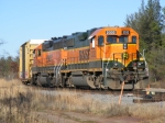 BNSF 2332 and BNSF 2003- Cass Lake Local