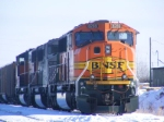 BNSF 8289 and BNSF 9246