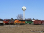Empty coal train, and the Cass Lake Local