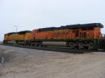 BNSF 9845 and BNSF 6006