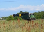 BNSF 2968 and BNSF 2218- CL Local making a switch move