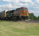 BNSF 5091 and FURX 8129