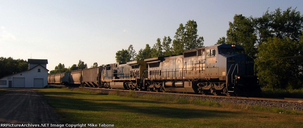 Conrail Grain train!