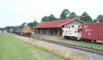 Q545 passing depot