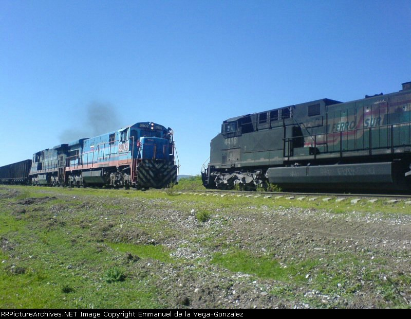 8902 NTE VS 4418 SUR en VIA PROLONGACION