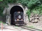 Exiting the East Dubuque CN/IC Tunnel