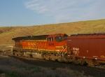BNSF 4465 on DPU Duty