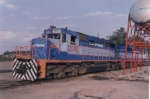 SD40-2 In Guadalajara Shops.