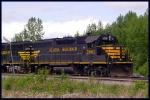 Alaska Rail Road freight in Eklutna, Alaska