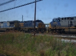 CSX 615 and 5363