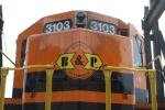 B&P 3103's Nose Logo
