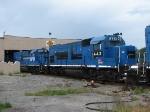 All 4 LTEX Ex-Conrail GP15-1's Rest
