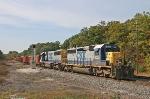 CSX 8025 on B032-15