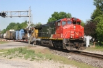 CN 2512 enters the single track