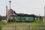 BNSF 2758  Local Power.