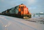 1390-35 Westbound SOO/MILW freight passes Robert Street diamond