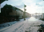 1390-36 Westbound SOO/MILW freight passes Robert Street diamond