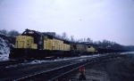 1403-02 Westbound CNW coal train at Western Ave Yard