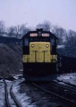 1403-05  CNW 7010 at Western Ave Yard