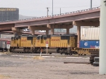 UP 4185 #2 power in a WB intermodal at 11:08am
