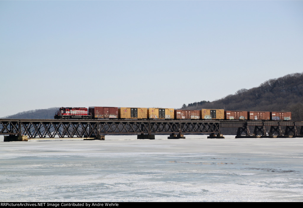 Lake Wisconsin Bridge Sequence 3 of 3