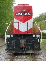WSOR 4054 rear end closeup