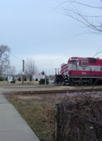 WSOR 2055 leaving for Reedsburg