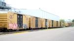 More stored boxcars