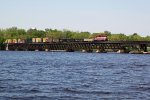 Lake Wisconsin bridge sequence 2 of 5