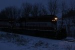 WSOR 4006 on a cold winter's evening