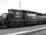 NS 4606 (GP59) Yard Duty
