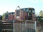Radio controlled Algoma Steel locos