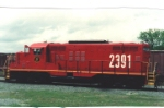 One of the first units painted in the early red scheme of the AGLF under Claussen control.  the unit was painted in Enterprise, AL on the WGCR and then transported to Albany with start up power.  Decals were added before dedication and handover.