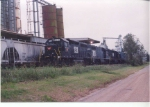 These three units made up the bulk of the operating power on the line in the early 2000s.  Wiregrass Central seemed to be a preferred location to shake down newly acquired power by G&O Railways over the years.