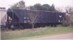LXOH 68 sits in a grain train at Enterprise, AL on the Wiregrass Central in 2003