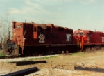 In the early years of the WGCR, power was a mix of ex SP and Chessie GP9s and a single ex IC GP40