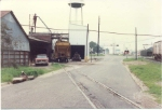 Shot of Sessions Peanut Meal operation on the west end of the WGCR in enterprise in 1989