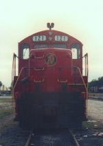 The start up of the AGLF in Albany, GA by G&O Railways feature one of two ex MKT GP units, one being 121