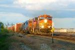BNSF 4307 west
