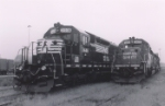 A trio of SD40-2's