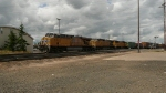 Southbound UP Mixed Freight