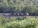 NS 9912 leading coal train eastbound
