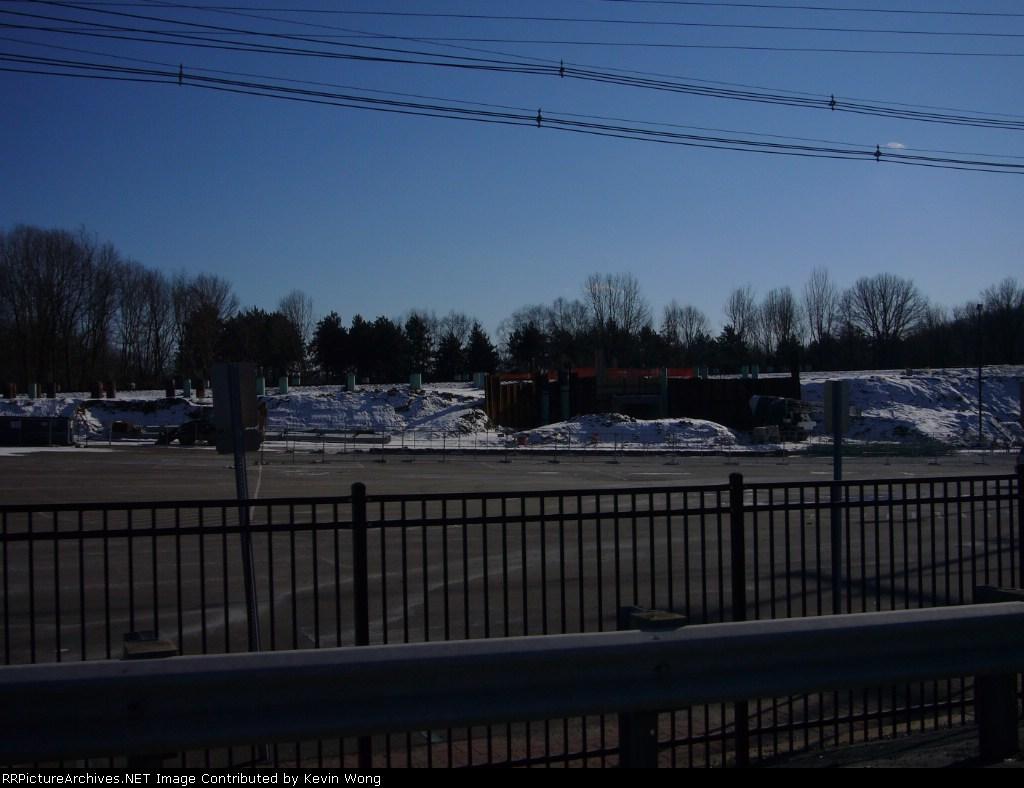 New Mount Arlington station site