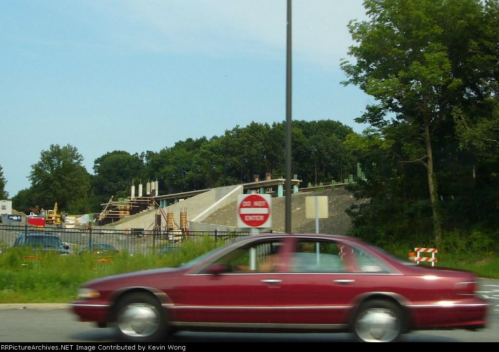 Mount Arlington station site, August 5, 2007
