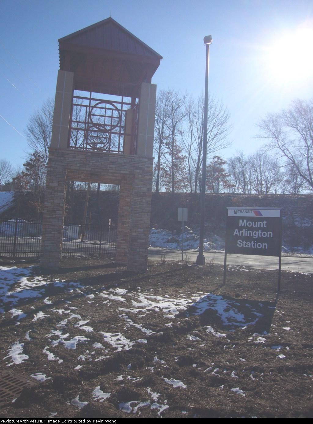 Mount Arlington station entrance