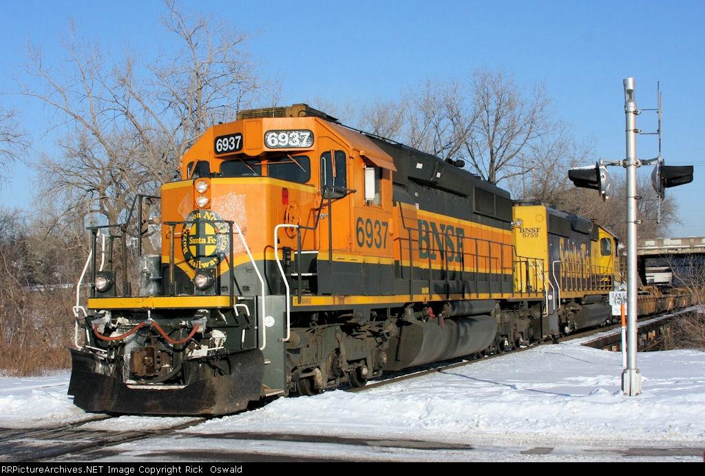 BNSF 6937