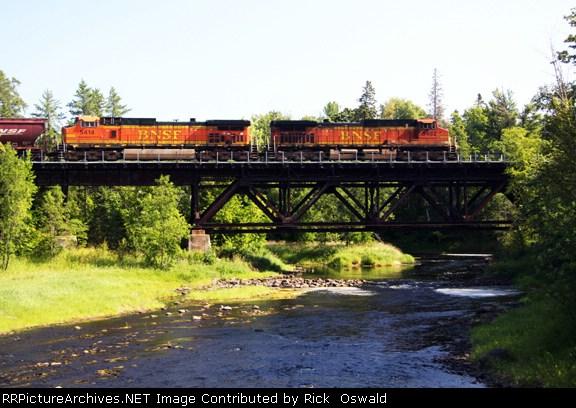 Prairie River Bridge at Gunn, MN