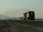Early AM in Newberry Springs Calif