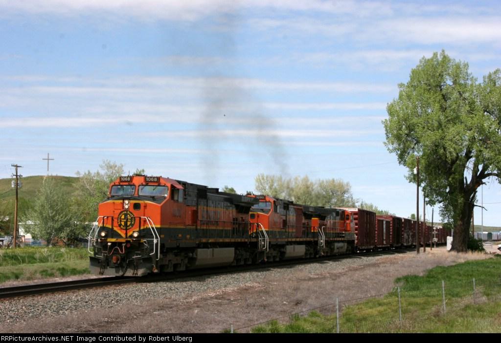 BNSF 1068 BNSF 1090 BNSF 1033