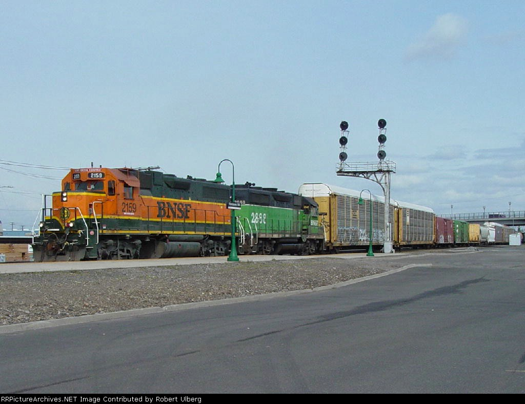 BNSF 2159 BNSF 2888
